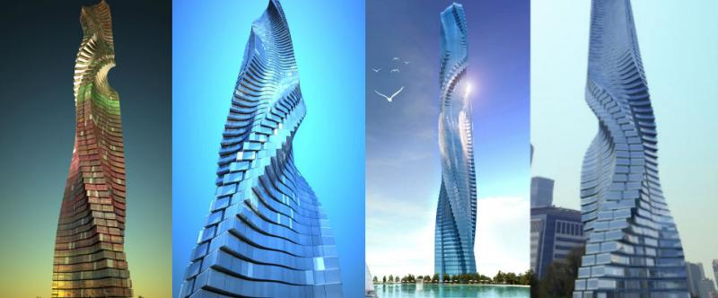 Dynamic Tower v Dubaji